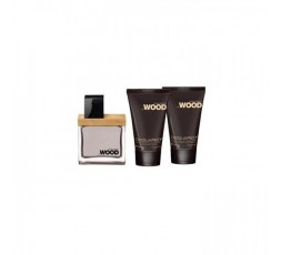 Dsquared he Wood Donna edt. 30 ml. & Body & Bsh. Cofanetto