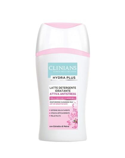 Clinians Hydra Plus Latte Detergente Idratante Pelli Secche o Sensibili 200 ml