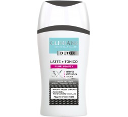 Clinians Detox Latte e Tonico 3X Pure Beauty 200 ml