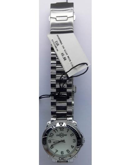 Cronostar Orologio R3753200145 Sportwear Quadrante Bianco Cinturino Acciaio