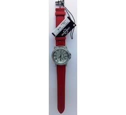 Cronostar Orologio R3751400745 Elegance Quadrante Bianco Cinturino Rosso