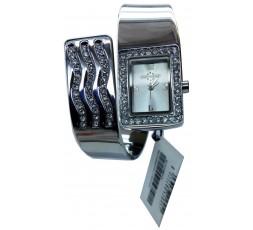 Cronostar Orologio R3753300715 Slave Quadrante Argento Cinturino Acciaio