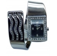 Cronostar Orologio R3753300715 Slave Quadrante Nero Cinturino Acciaio