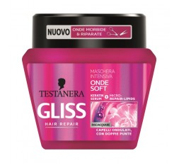 Testanera Gliss Maschera Intensiva Onde Soft 300 ml
