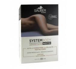 Sauber System Body Programma Anticellulite Notte Vapo + Leggins L/XL 100 ml